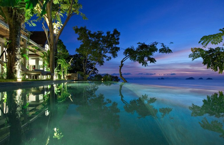 1 Bedroom Option Beach Front Villa with Pool at Taling Ngam Ko Samui