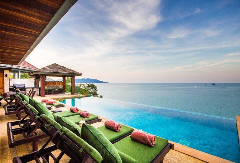 5 Bedroom Sea View Villa with Private Pool at Tongson Bay Ko Samui